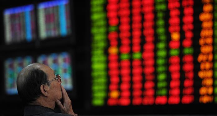 Падение китайских индексов