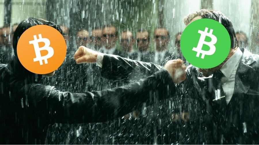 Bitcoin Core против Bitcoin Cash