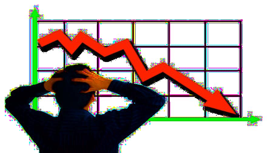 количество транзакций упало
