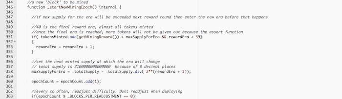 Код Биткойна вместе с PoW майнингом портирован в смарт-контракт Эфириума с токеном 0xBitcoin