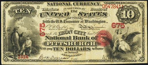 Pittsburgh 10 note
