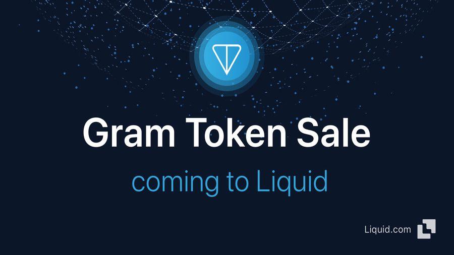Вторичная торговля токенами Gram начнется на бирже Liquid с 10 июля