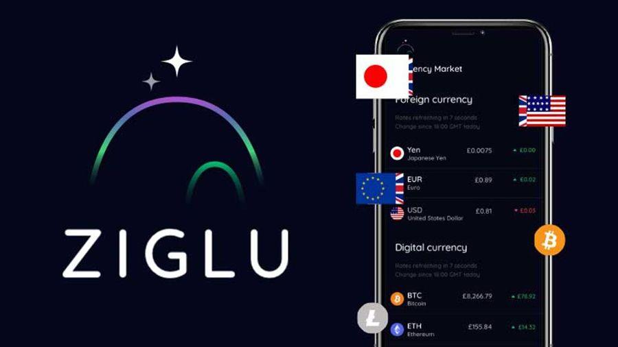 Криптовалютный банк Ziglu добавил функции покупки и отправки криптоактивов
