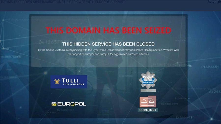 Таможня Финляндии и Европол закрыли рынок даркнета Sipulimarket и конфисковали активы