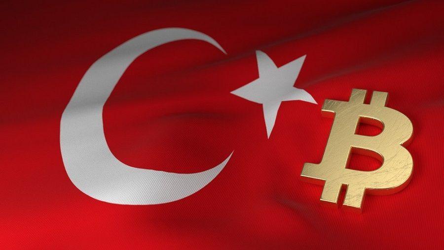 На фоне падения турецкой лиры курс биткоина в Турции достиг $100 000