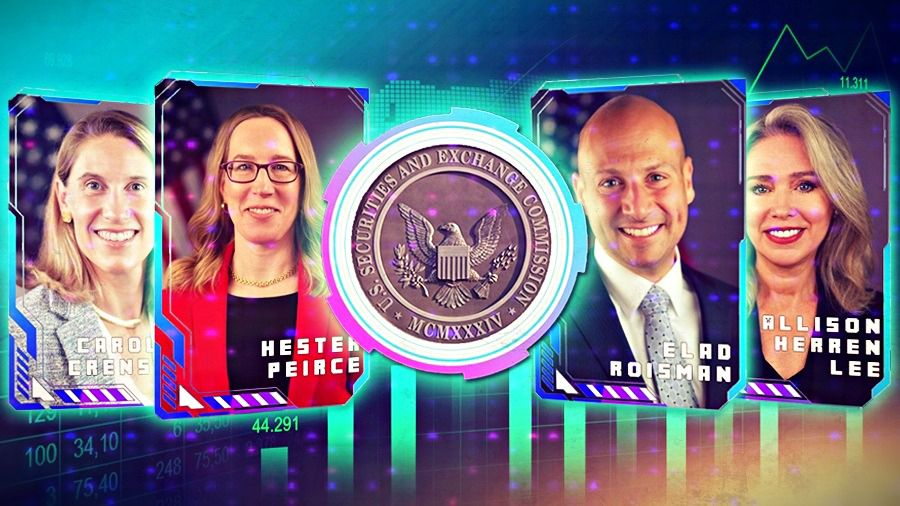 SEC выпустит NFT с портретами собственных комиссаров