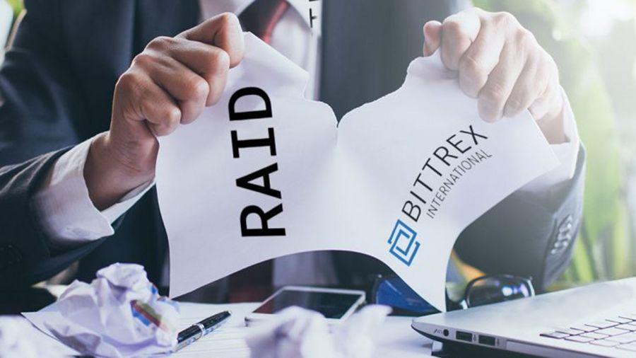 Bittrex отказала проекту RAID в проведении IEO на своей платформе