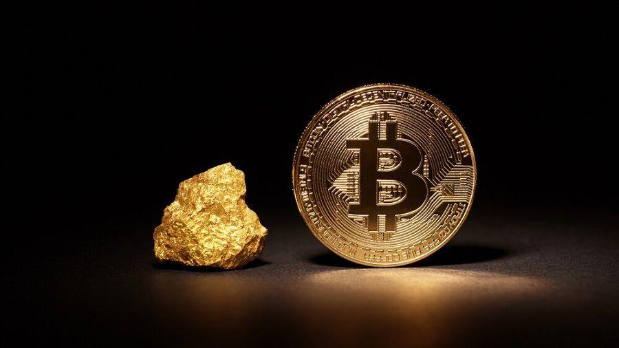 Deutsche Bank: «инвесторы все чаще выбирают биткоин вместо золота»