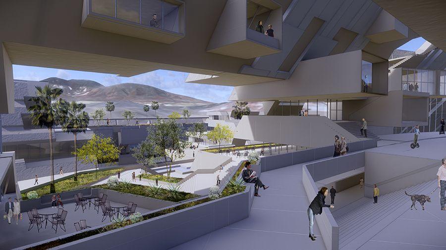 Blockchains LLC начнет строительство умного города в пустыне Невады в 2022 году
