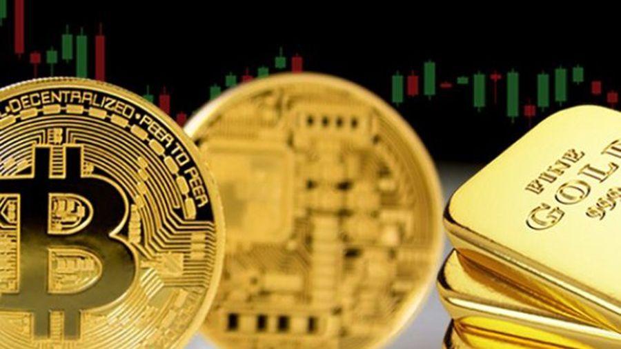 Биткоин впервые с июня обошел золото по темпам роста