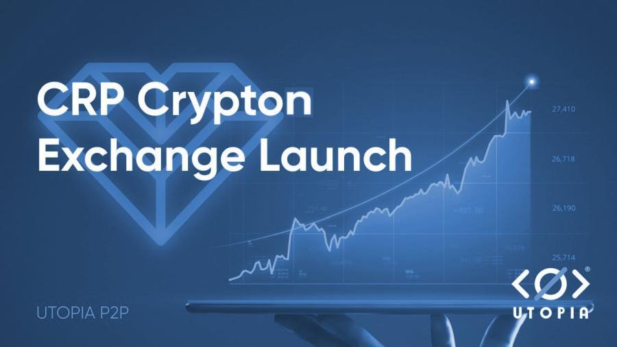 Биржа Crypton Exchange: торговля CRP без KYC и ограничений с Utopia P2P