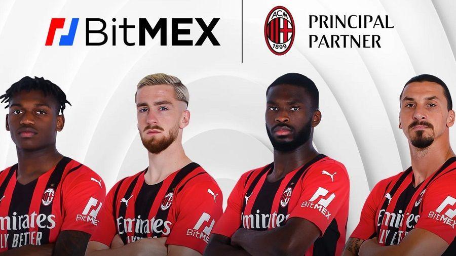 BitMEX разместит свой логотип на футболках ФК «Милан»