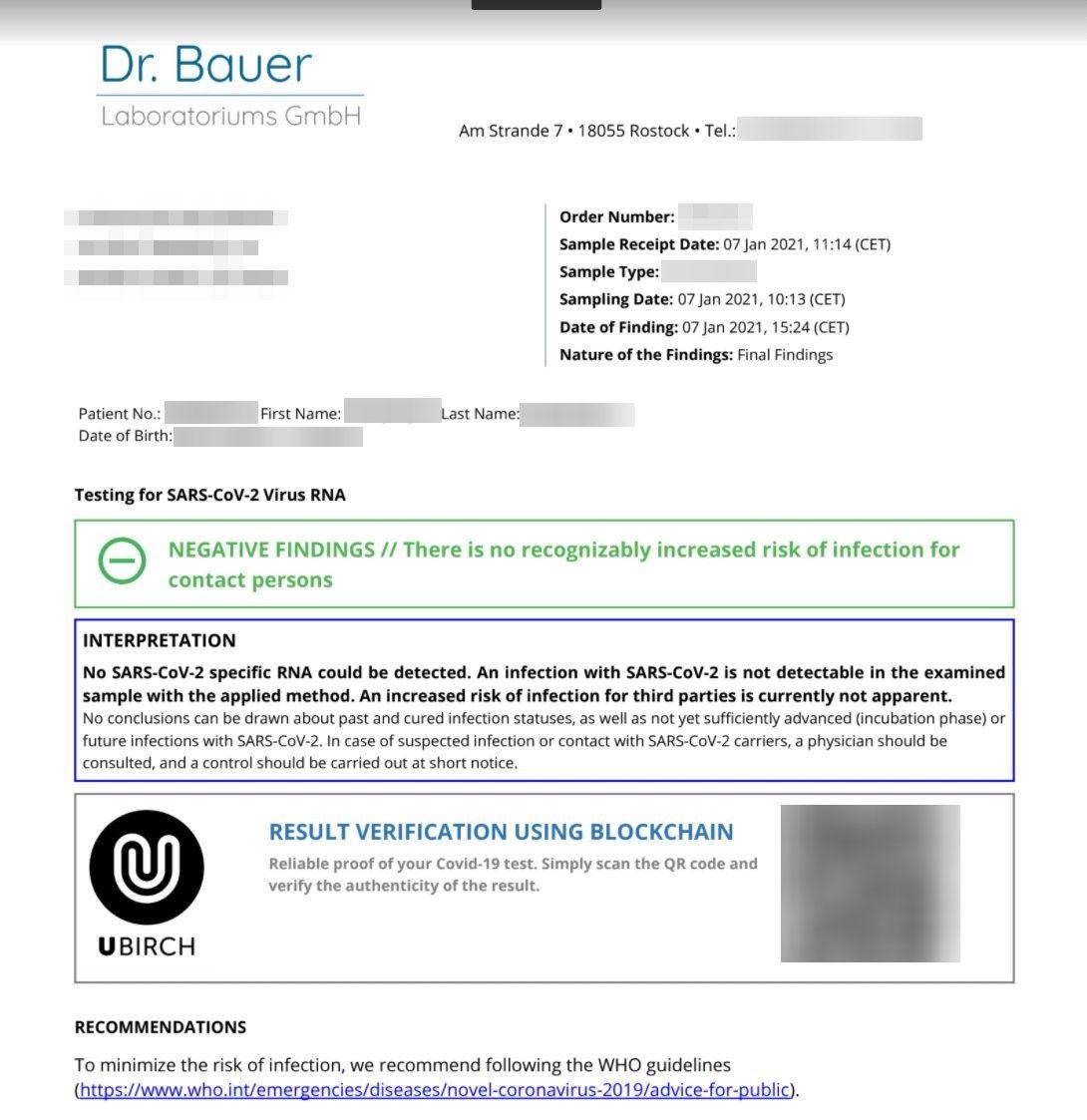 Аэропорт Франкфурта использует решение на базе IOTA для проверки тестов на коронавирус