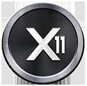 Логотип алгоритма X11