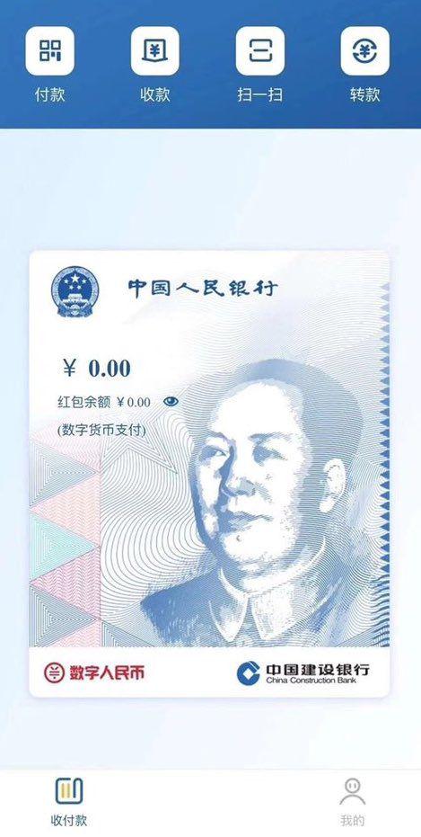 Банк CCB ненадолго открыл клиентам доступ к кошельку для цифрового юаня