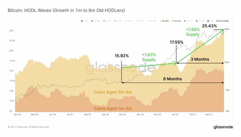 Glassnode: новые пользователи криптографических валют предпочитают хранить BTC