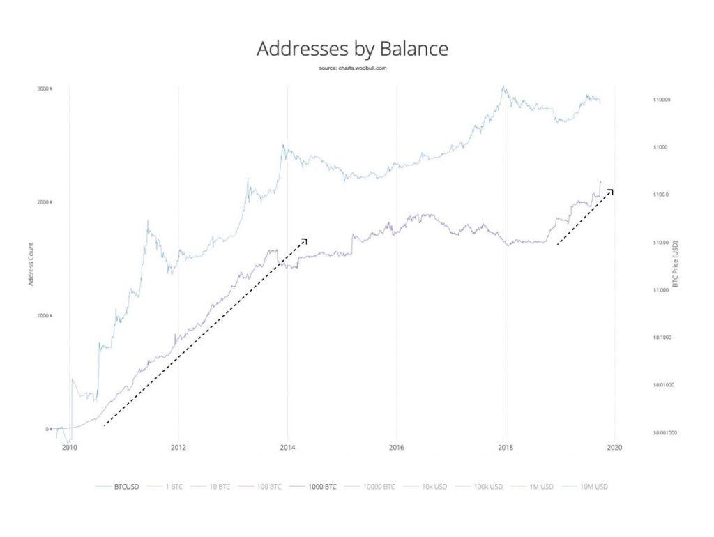 график адреса биткоина