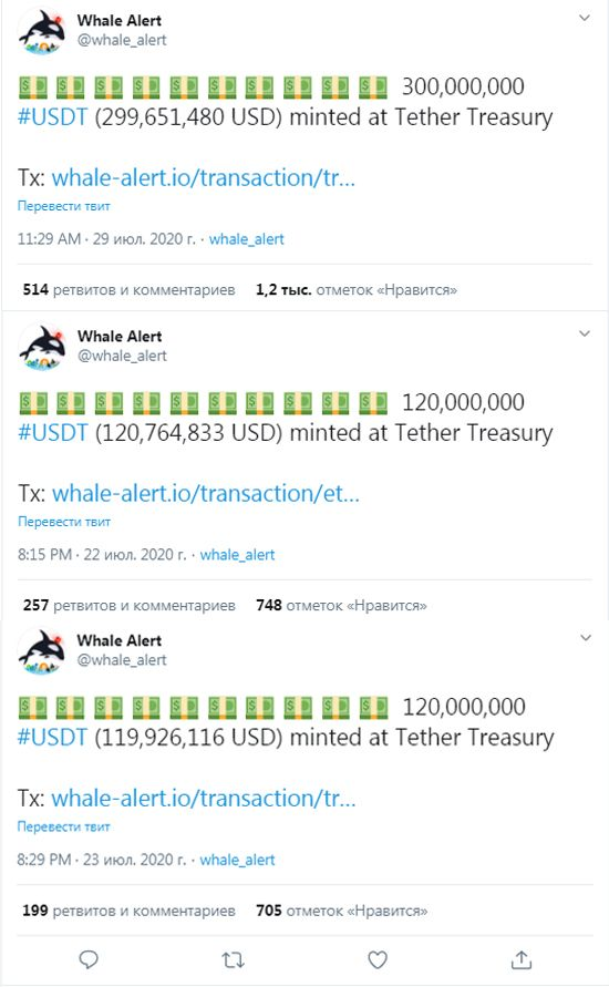 USDT issue