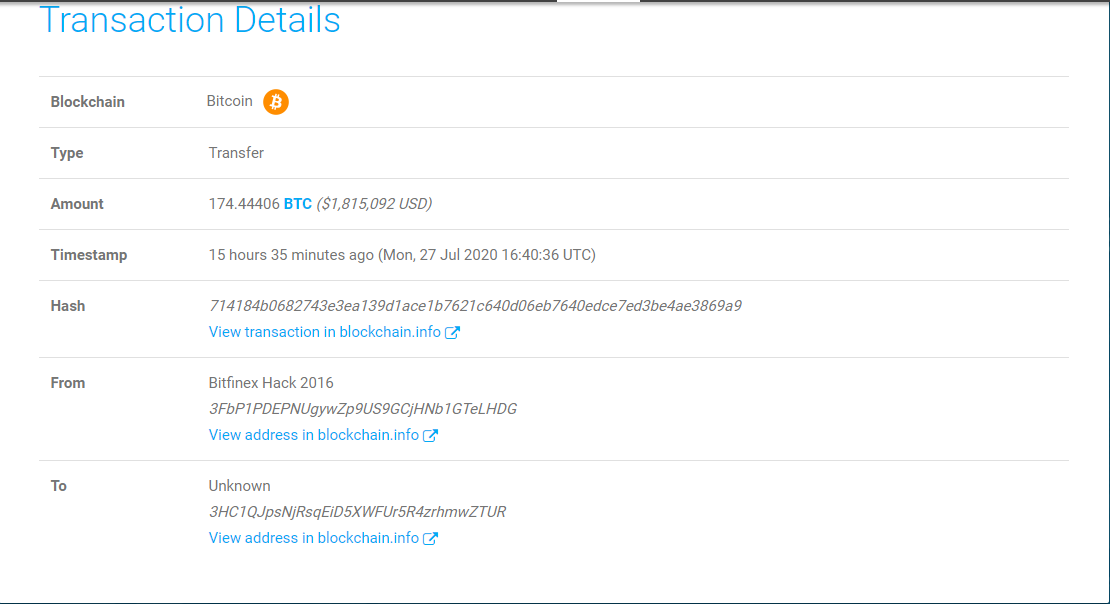 btc bitfinex hack